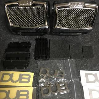 ダブコレクション(DUB Collection)のDUB ドリンクホルダー 2個セット ステッカー キーホルダー付き(車内アクセサリ)