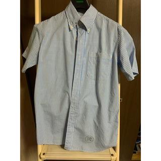 ユニフォームエクスペリメント(uniform experiment)のソフ soph ストライプ半袖シャツ s(シャツ)