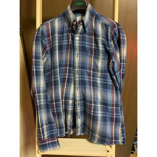 ユニフォームエクスペリメント(uniform experiment)のソフ soph UE ネルシャツs(シャツ)