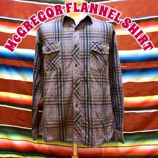 マックレガー(McGREGOR)のMcGREGOR ネルシャツ(シャツ)