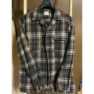 グッドイナフ(GOODENOUGH)のグッドイナフ ジップアップシャツジャケット M(シャツ)