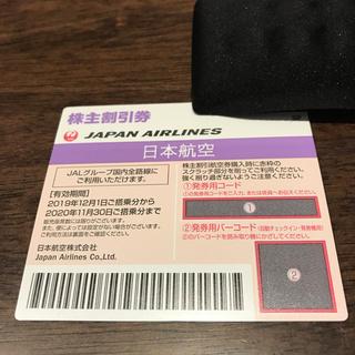 ジャル(ニホンコウクウ)(JAL(日本航空))のJAL 日本航空 株主優待券(航空券)