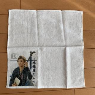 氷川きよし グッズ ハンドタオル(男性タレント)