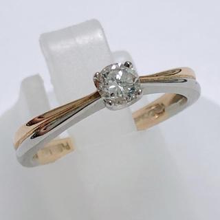 Vendome Aoyama - ヴァンドーム vendome ダイヤモンドリング  指輪 k18 pt950