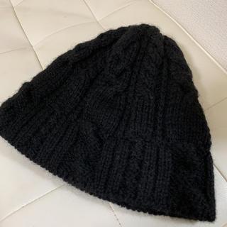【HIGHLAND2000】 良品 ニットキャップ ニット帽 イングランド製(ニット帽/ビーニー)