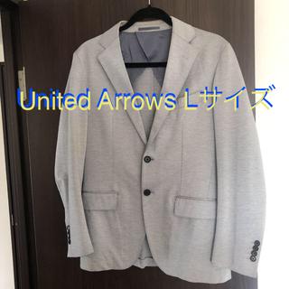 UNITED ARROWS - Bow & Arrows テーラードジャケット グレー L ユナイテッドアローズ