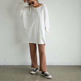 アンティローザ(Auntie Rosa)のコットンルーズロンT(Tシャツ(長袖/七分))