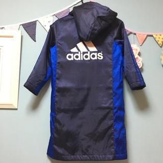 adidas - adidas アディダス ベンチコート ロングコート サッカー スポーツ 120