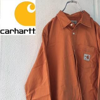 カーハート(carhartt)のCarhartt  ワンポイントロゴ ワークシャツ (シャツ)