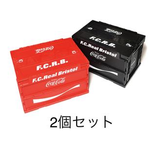 エフシーアールビー(F.C.R.B.)のF.C.R.B. コカコーラ コンテナ 赤 黒 2色セット (ケース/ボックス)