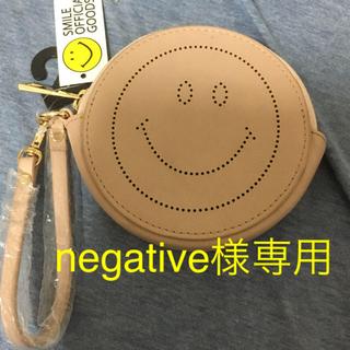 シマムラ(しまむら)の新品 ストラップ付 スマイリーコインケース☆しまむら(コインケース)
