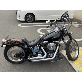 ハーレーダビッドソン(Harley Davidson)のハーレー ソフテイル エボ 低走行車 車検2年付(車体)