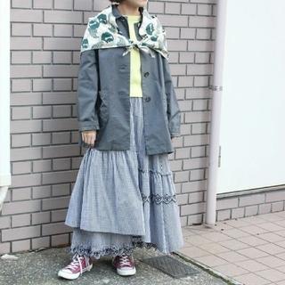 アトリエドゥサボン(l'atelier du savon)のティータイムレーススカート(¥7500より値下げ)(ロングスカート)