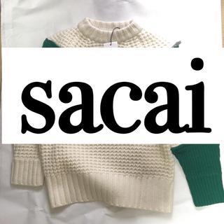 サカイ(sacai)のsacai  ニット(ニット/セーター)