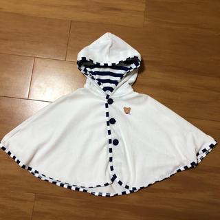 mikihouse - ミキハウス ポンチョ アウター 羽織り 70〜90