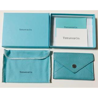 ティファニー(Tiffany & Co.)のTIFFANY&CO. ティファニー 名刺入れ カードケース コインケース(コインケース)