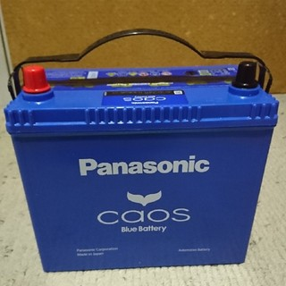 パナソニック(Panasonic)のパナソニック カオス バッテリー N-80B24R/C7 標準車用 新品未使用 (その他)