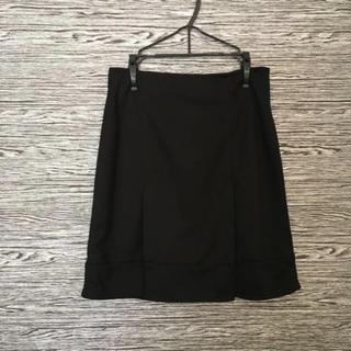 ニッセン(ニッセン)の【nissen】新品☆黒スカート(ひざ丈スカート)