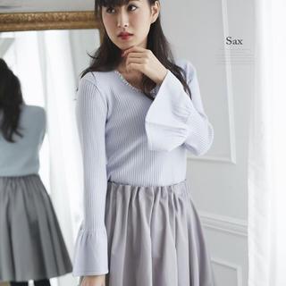 トッコ(tocco)のtocco closet ♥ 色っぽフレアスリーブニットプルオーバー(ニット/セーター)