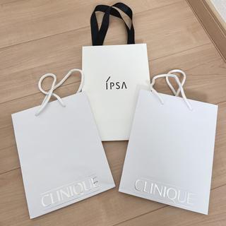 クリニーク(CLINIQUE)のショップ袋 3つセット(ショップ袋)