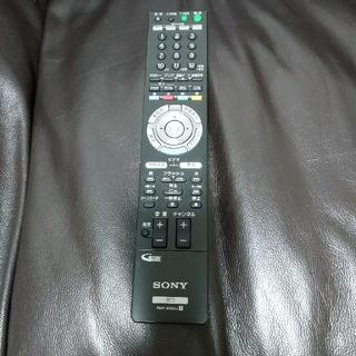 ソニー(SONY)のソニー ブルーレイディスクレコーダー リモコン テレビにも使えます!(ブルーレイレコーダー)