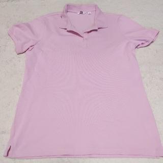 ユニクロ(UNIQLO)のUNIQLO ポロシャツ レディース XL(ポロシャツ)