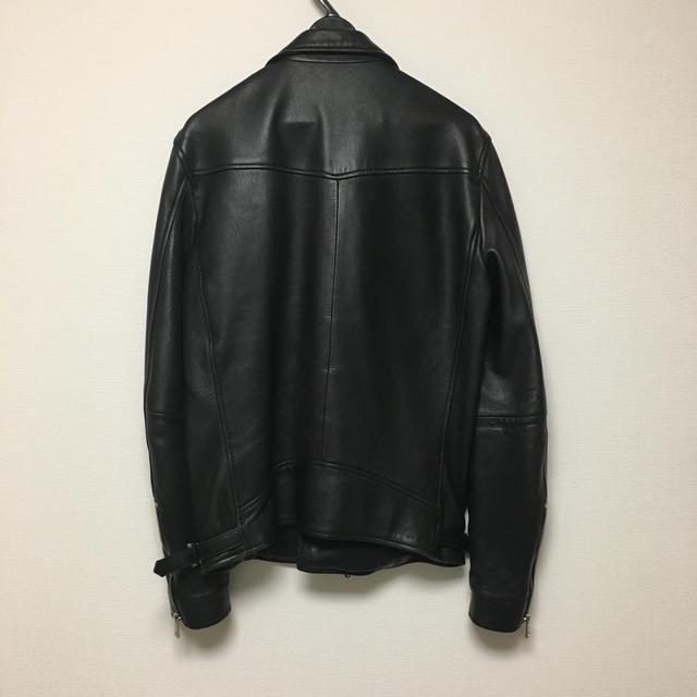STUDIOUS(ステュディオス)のユナイテッドトウキョウ  ダブルライダース メンズのジャケット/アウター(ライダースジャケット)の商品写真