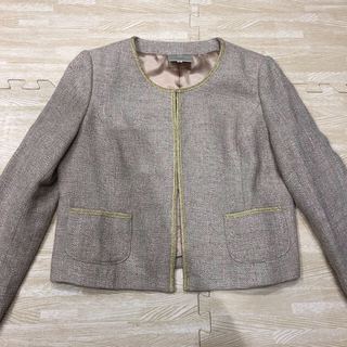 EMMAJAMES - ノーカラージャケット 入園式 入学式 スーツ セレモニースーツ