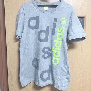 アディダス(adidas)のアディダス アディダスネオ Tシャツ グレー adidas(Tシャツ(半袖/袖なし))