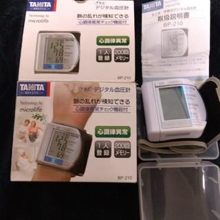 タニタ(TANITA)の最終10日再お値下げ 新品同様 TANITA デジタル血圧計(その他)