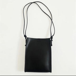 TODAYFUL - TODAYFUL Leather Square Pochette ブラック