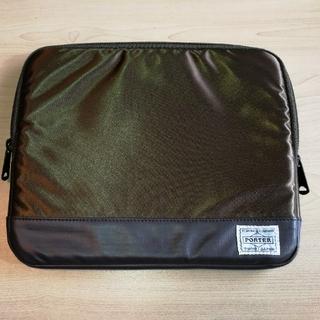 PORTER - ポーター サックスバー タブレットケース クラッチバッグ 未使用品 PORTER