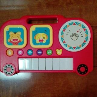 ちゃれんじ ピアノキーボード(楽器のおもちゃ)