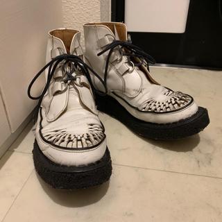 ジョージコックス(GEORGE COX)の[ウッディ様専用]ジョージコックス ラバーソール 英国製size9(ブーツ)