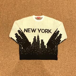 Supreme - 新品未使用 Supreme New York Sweater 白黒 M