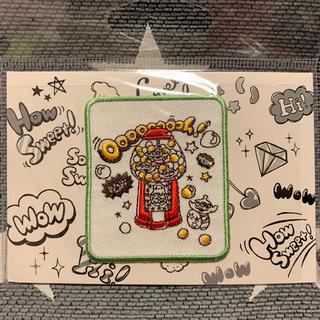 Disney - ピクサー トイストーリー エイリアン グリーンメン 刺繍 ワッペン ガチャ ガム