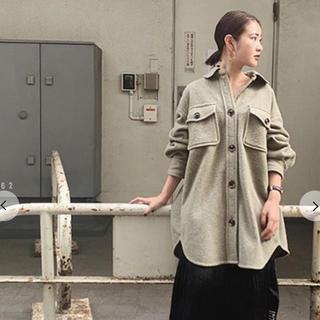 スナイデル(snidel)のSNIDEL スナイデル  ウールシャツジャケット(シャツ/ブラウス(長袖/七分))