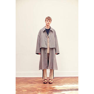 COMOLI - yoke 3way share coat