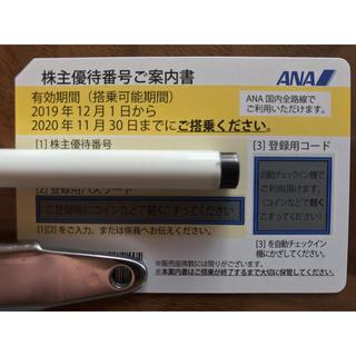 【複数枚購入割引有】ANA株主優待券1枚