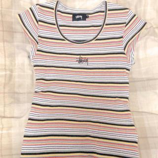 STUSSY - stussy women Tシャツ 半袖