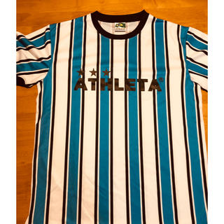 アスレタ(ATHLETA)のアスレタ ストライプ ゲームシャツ Oサイズ(ウェア)