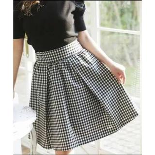 メゾンドフルール(Maison de FLEUR)のMaison de FLEUR petitrobe スカート(ひざ丈スカート)