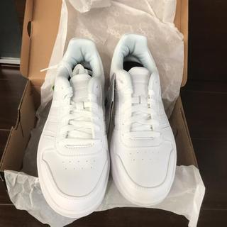 アディダス(adidas)のアディダス ホワイト 白 24(スニーカー)