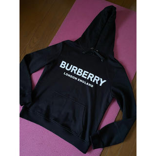 BURBERRY - Burberry バーバリー ロンドン パーカー トレーナー  ブラック