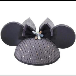 Disney - ディズニー ミニー イヤーハット 新品 ランド シー ミッキー カチューシャ 耳