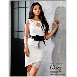 ROBE - ROBE de FLEURS Glossy 美品ドレス