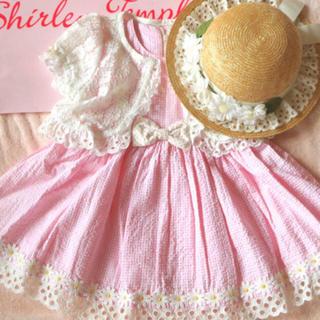 Shirley Temple - 未使用含む シャーリーテンプル マーガレットワンピ&ボレロ 100 2点セット