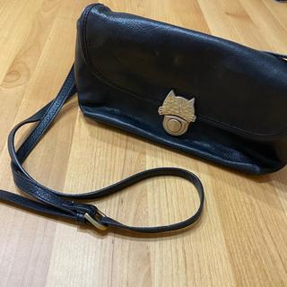 TSUMORI CHISATO - ツモリチサト ショルダーバッグ カバン 鞄 黒