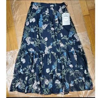 Rirandture - リランドチュール エアリーボタニカルスカート スカート フラワースカート 花柄