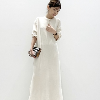 L'Appartement DEUXIEME CLASSE - Billy MILITARY THERMAL DRESS ナチュラル